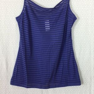 See Through Striped Tanktop Kenzo NWOT